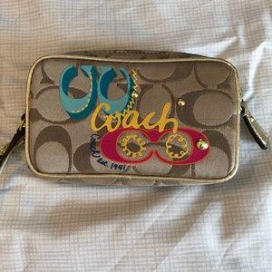 Coach mini purse/wallet